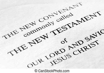 新約聖書, 新しい