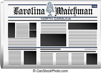 新聞, カロライナ, 夜警
