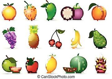 新鮮な果物, 漫画