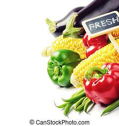 新鮮な野菜, 有機体である