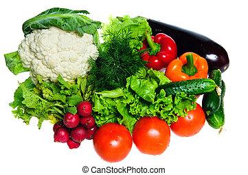 新鮮な野菜, 隔離された