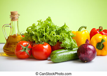 新鮮な野菜, 静かな 生命
