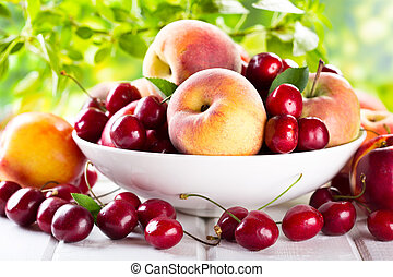 新鮮的水果
