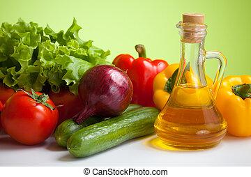 新鮮的蔬菜, 平靜的生活