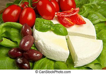 新鮮, 乳酪
