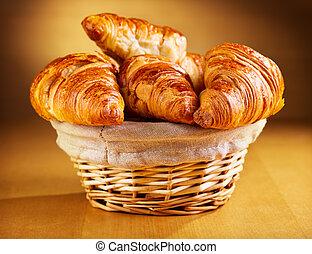 新鮮, croissants