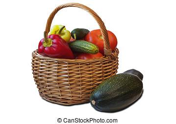 新鲜的蔬菜
