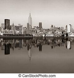 新, 城市, 摩天樓, 約克