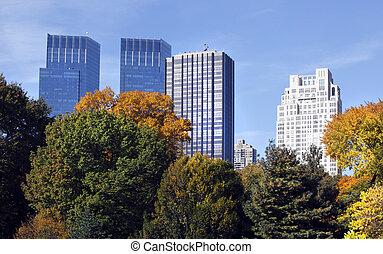 新, 建筑物, 約克, 城市