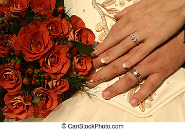新, 戒指, 婚禮