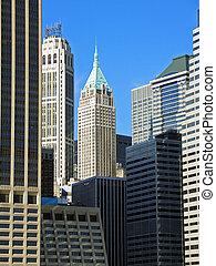 新, 曼哈頓, 金融, 約克, 地區