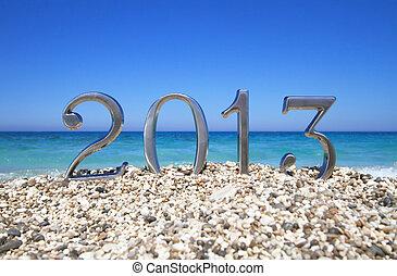 新, 海灘,  2013, 年