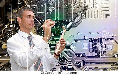 新, 計算机, 技術