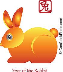 新, 黄道带野兔, 汉语, 年
