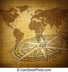 方向, 世界的である