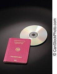 旅行ドキュメント, データ, ヨーロッパ, cd