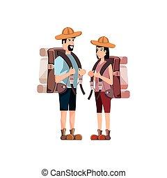 旅行者, 恋人, 特徴, avatar