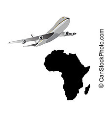旅行, へ, アフリカ
