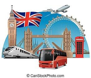 旅行, イギリス\
