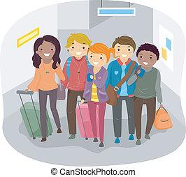 旅行, グループ