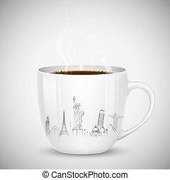 旅行, コーヒー