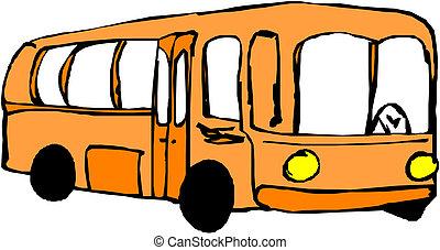 旅行, バス