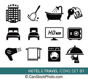 旅行, ホテル