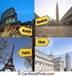 旅行, ヨーロッパ
