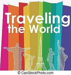 旅行, 世界