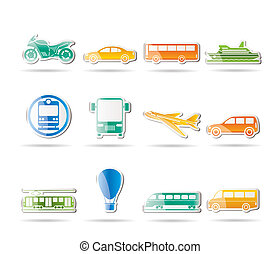 旅行, 交通機関, 人々