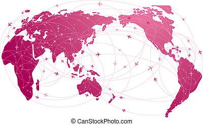旅行, 全球