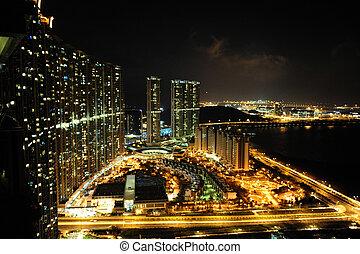旅行, 写真, 陶磁器, -, 香港