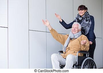 旅行, 車椅子