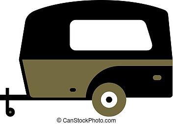 旅行, 露營者拖車