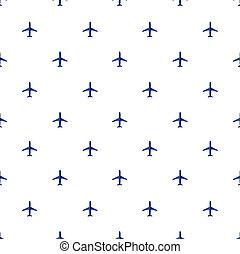旅行, 飛行機, 交通機関, 背景, 空気