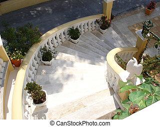 旅馆, 楼梯