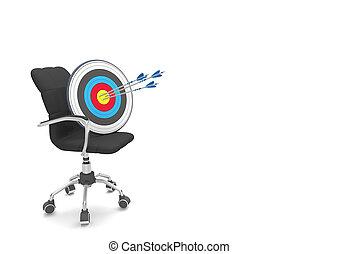 旋回装置 椅子, 矢, 3, ターゲット