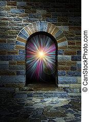 旋渦, 石頭拱, 門口, 不可思議