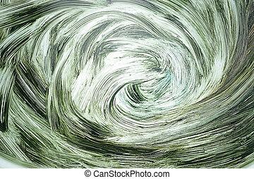 旋风, 油画