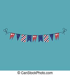 旗布, 平ら, 国民, ネパール, 旗, 装飾, デザイン, 休日, 日