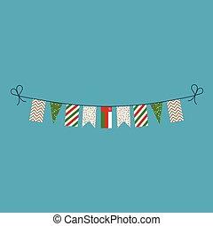 旗布, 平ら, oman, 国民, 旗, 装飾, デザイン, 休日, 日