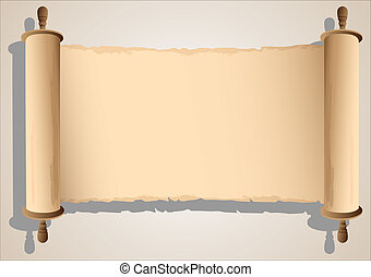 旗幟, 老, 紙卷
