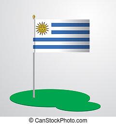 旗竿, ウルグアイ