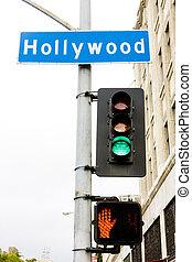 旗語, 好萊塢, 洛杉磯, 加利福尼亞, 美國