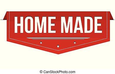 旗, なされる 家, デザイン