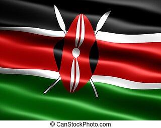 旗, の, kenya