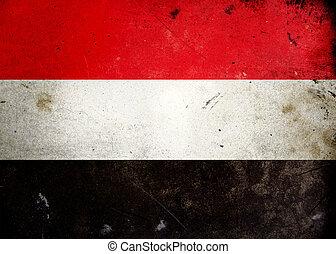 旗, イエメン, グランジ