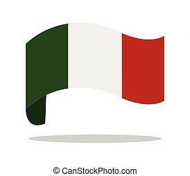 旗, イタリア語