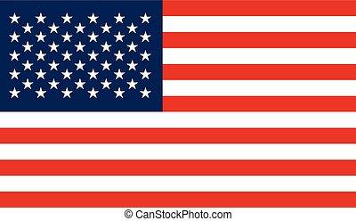 旗, イメージ, アメリカ