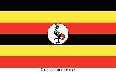 旗, イメージ, ウガンダ